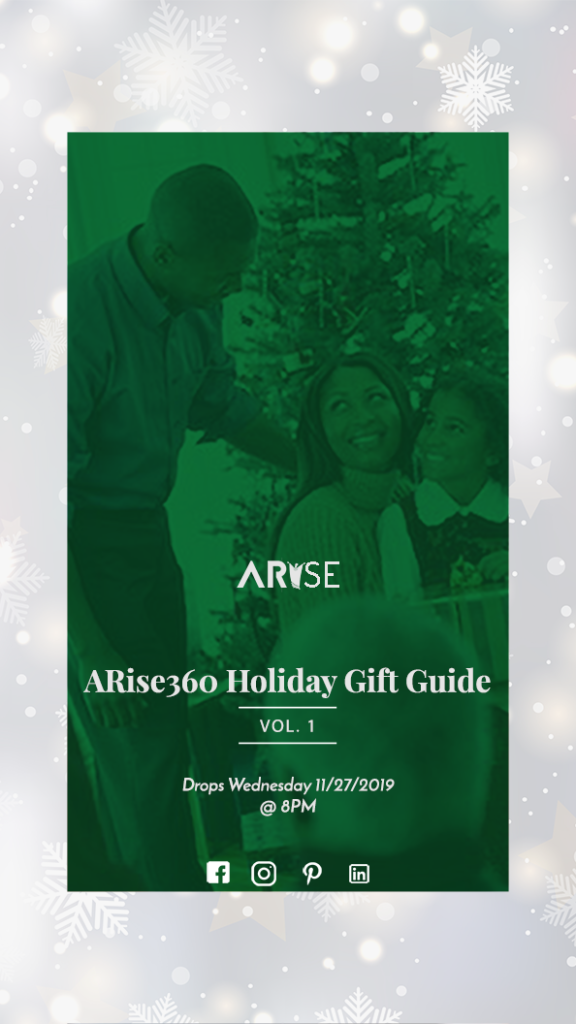 2019 ARise Holiday Gift Guide Vol. 1
