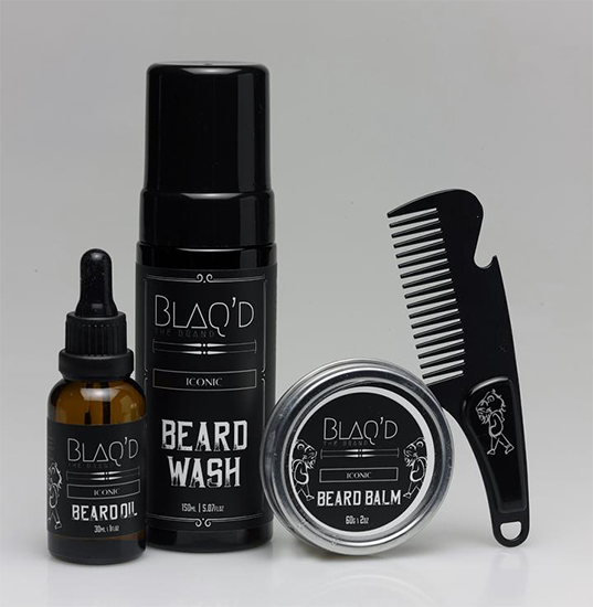 Blaq'd the Brand - Iconic Beard Collection