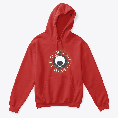 Genesis Red King Kids Hoody