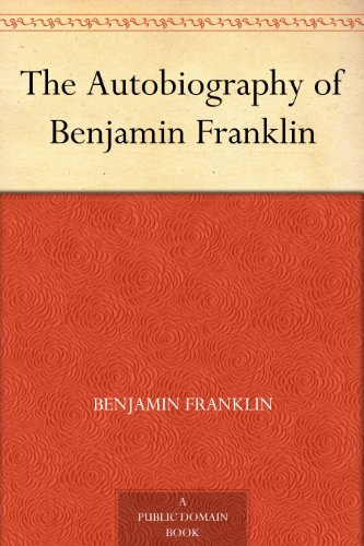Autobiography of Benjamin Franklin cover