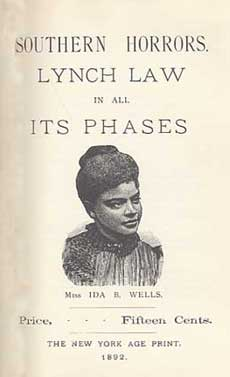 Southern Horrors Lynch Law in All Its Phases cover